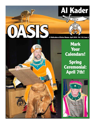 Oasis Cover - 2018-04